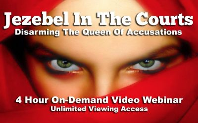 Jezebel in the Courts – Disarming the Queen of Accusations