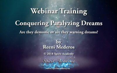 Conquering Paralyzing Dreams