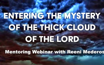 Entering the Mystery of the Thick Cloud of the Lord