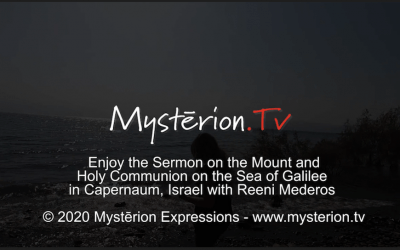 Take Holy Communion on the Sea of Galilee with Reeni Mederos