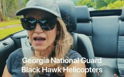 Memorial Day Flyover Georgia National Guard with Reeni & Rob Mederos #MemorialDay #GeorgiaGuardRemembers #GeorgiaStrong #HonoringOurHeros