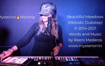 Beautiful Meadows – An Original Melodic Dubstep Instrumental Worship Video by Reeni Mederos