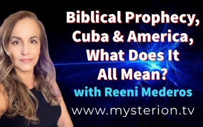 Biblical Prophecy, Cuba & America. What Does It All Mean? Worship & Teaching with Reeni Mederos #soscuba